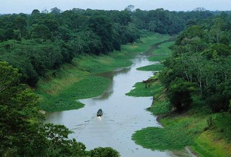 Самая длинная река - Амазонка
