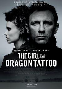 Девушка с татуировкой драконы