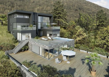 Дом на берегу Цугского озера