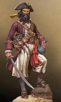 Эдвард Тич - самый известный пират