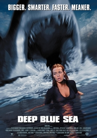 Глубокое синее море - фильм про акул