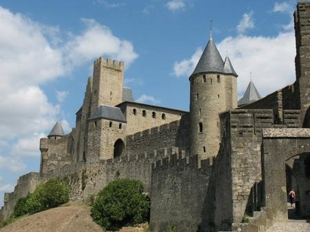 Замок-крепость Каркассон