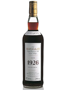1926 Macallan Fine And Rare Collection