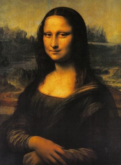 Мона Лиза (Джоконда) - самые известные картины