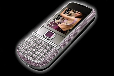 Nokia 8800 Arte Pink Diamonds