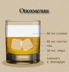 Коктейль «Опохмелин»