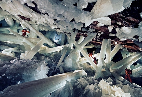 Кристальная пещера гигантов (Мексика)