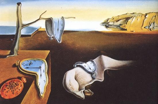 Постоянство памяти - самые известные картины мира