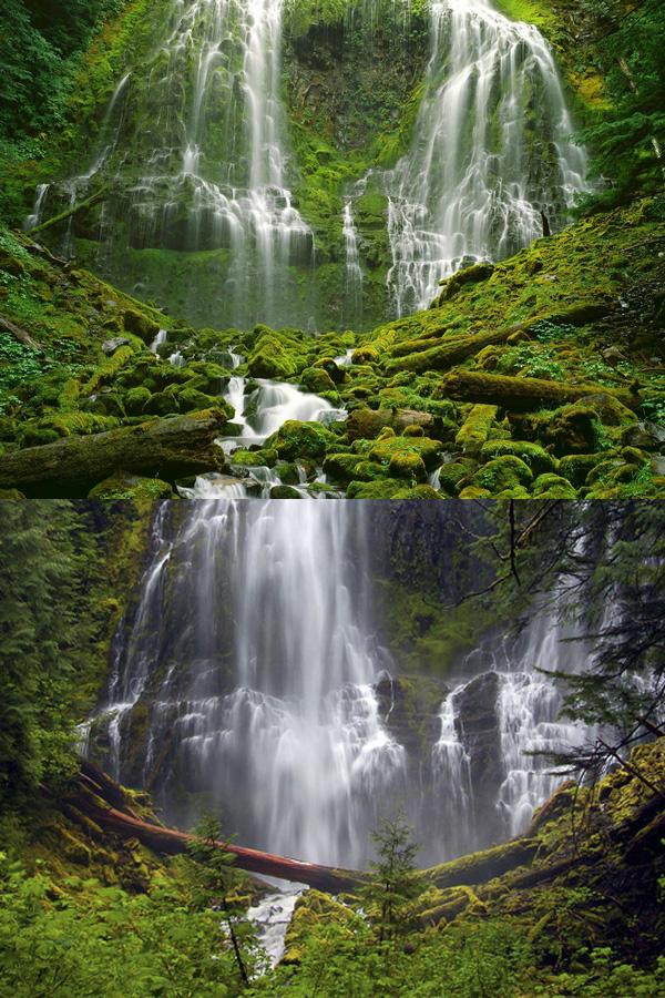 Водопад Три сестры