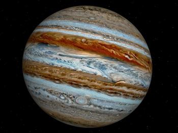 Юпитер - самая большая планета