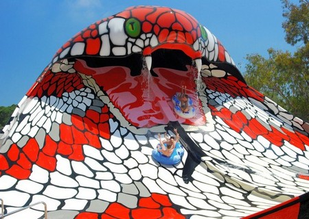 Змеиный аквапарк